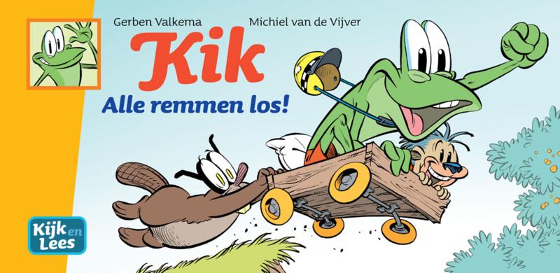 Kik - Alle remmen los! (AVI E3, Kern 9-12)
