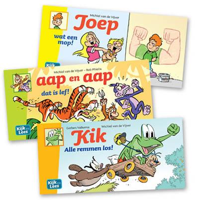 Mini moppenboekjes voor groep 3