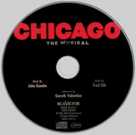 CD Chicago The Musical