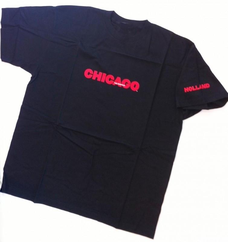 T-Shirt Chicago De Musical