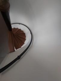 Stalen trapleuning