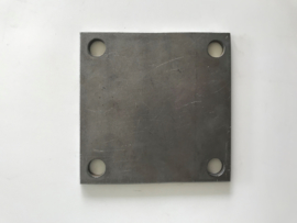 Voetplaat 133x133 mm