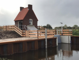 Restauratie en opknappen 4 gemalen Rijnland