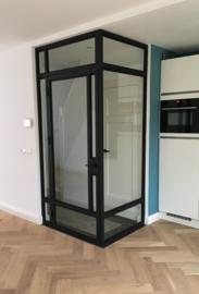 Stalen binnendeur en kozijn Eindhoven