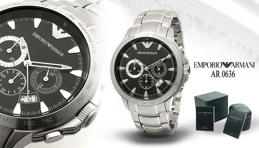 AR0636 armani horloge