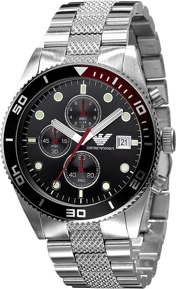 armani horloge ar5855 zilver