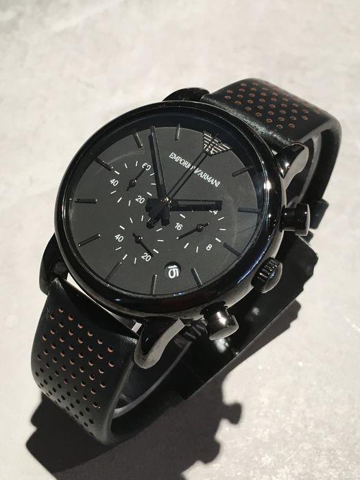 armani horloge ar1737 zwart