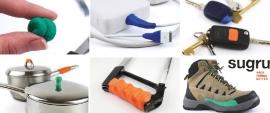 Sugru silicone rubber reparatie materiaal kleur : ZILVER GRIJS