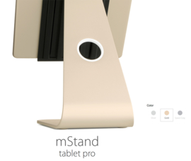 mStand Tablet Pro (9.7 inch of 12.9 inch) Silver, Gold of Space Grey