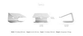 mStand 360 MacBook / MacBook Pro (Silver, Space Grey en Gold)