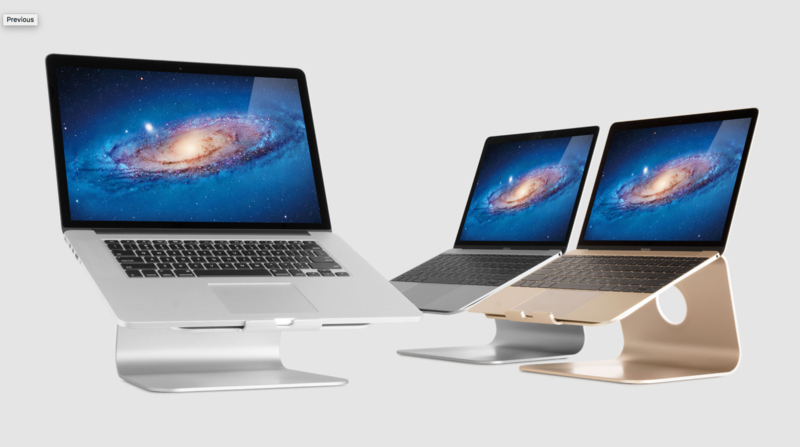 mStand MacBook / MacBook Pro (Silver, Space Grey en Gold)