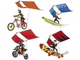 3d Vliegers Rhombus