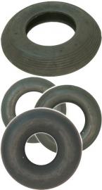 Binnenbanden kruiwagen wiel