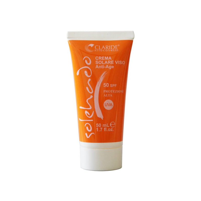 Solehado Gezicht  SPF 50 - zonnebrandcrème met hoge bescherming