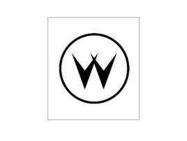 Munt Inworp Decal Williams Logo Zwart (nieuw)