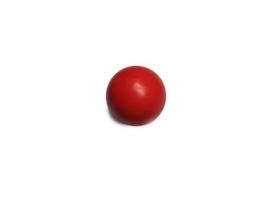 """Bal Rood 3/4"""" 19mm (nieuw)"""