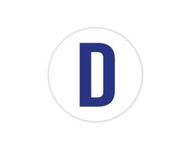Cap Decal D Blauw (nieuw)