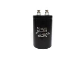 Condensator 27000µF 25v Radiaal (nieuw)