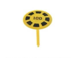 Mushroom Target Geel / Zwart 100 (nieuw)