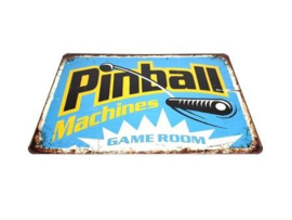 "Game Room Sign ""Pinball"" (nieuw)"