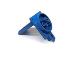 Popbumper Coil Housing Blauw Data East (gebruikt)