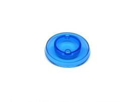 Popbumper Cap Licht Blauw Transparant (nieuw)