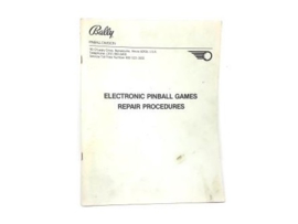 Manual Bally - Repair Procedures 1980 (gebruikt)
