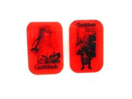 Gottlieb - Barb Wire Speaker Cover (gebruikt)