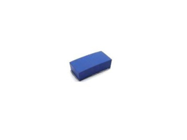 """Rubber Pad Blauw 1/2"""" x 1"""" x 1/4"""" (nieuw)"""