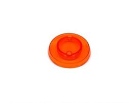 Popbumper Cap Oranje Transparant (nieuw)