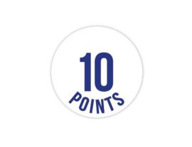 Cap Decal 10 Points Blauw (nieuw)