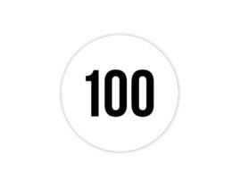 Cap Decal 100 Zwart (nieuw)