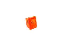 Munt Inworp Retour Button Oranje Universeel (nieuw)