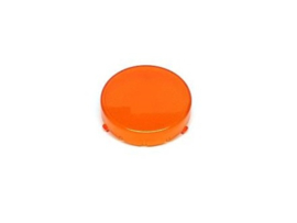Popbumper Cap Snap In Oranje Transparant (nieuw)