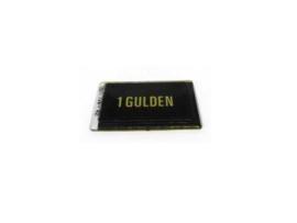 Munt Inworp Bally 1 Gulden Geel (nos)