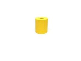 Bumper Geel Siliconen 19mm x 15,5mm (nieuw)