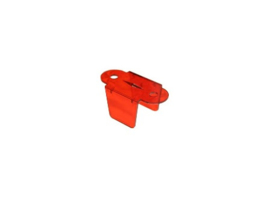 "Lane Guide Rood Transparant 2-3/4"" (nieuw)"