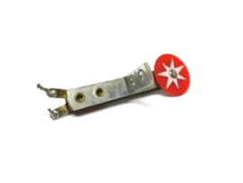 Target Rond Rood Met Zilveren Ster (gebruikt) TA010