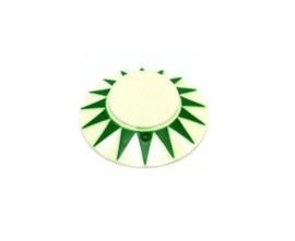 Popbumper Cap Sun Groen / Blanco (nieuw)