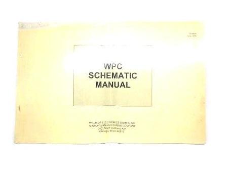 Schematic Manual WPC 1994 (gebruikt)