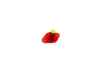 Rollover Button Geel Klein (gebruikt)