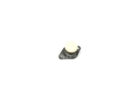 Rollover Button Wit Metalen Housing (gebruikt)