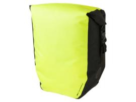 Agu shelter clean enkel fietstas large geel/zwart