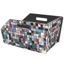 Klickfix fietskist bagagedrager GTA mozaiek