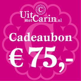 Cadeaubon € 75,-