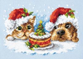 Borduurpatroon A delicious Christmas - Magic Needle