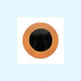 Veiligheidsoogjes oranje 8 mm