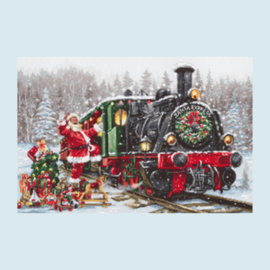Borduurpakket Santa's Express - luca S