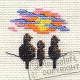 Sunset birds ml-004-l07
