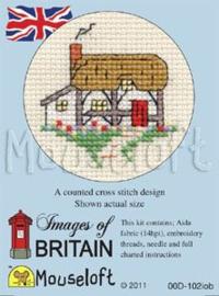 Borduurpakket  cottage - Mouseloft